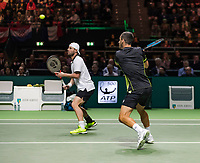 Rotterdam, The Netherlands, 18 Februari, 2018, ABNAMRO World Tennis Tournament, Ahoy, Doubles final, , Oliver Marach (AUT) / Mate Pavic (CRO)<br />