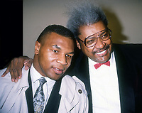 #MikeTyson #DonKing 1990<br /> Photo By Adam Scull/PHOTOlink.net