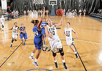 Florida International University guard Fanni Hutlassa (10) plays against Lynn University.  FIU won the game 68-30 on November 30, 2011 at Miami, Florida. .