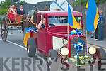 enjoying the parade at the Caili?n A?lainn festival in Lixnaw on Friday evening..