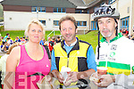 Taking part in the Ring of Kerry Cycle on Saturday last were l-r; Marie Kehoe-O'Sullivan, John O'Sullivan & John Dowd.