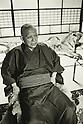 1974, Japan - Ryoichi Sasakawa was a Japanese politician, activist. (Photo by Koichi Saito/AFLO)