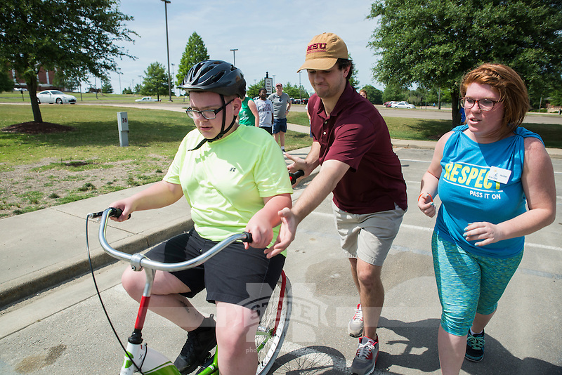 2016 Bulldog Bike Camp hosted by Dr. Gregg Twietmeyer and the Kinesiology department.<br />  (photo by Sarah Dutton / &copy; Mississippi State University)