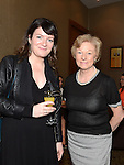 Fiona Kelly and Brianne McHugh pictured at the Women In Sport Lunch at City North Hotel. Photo:Colin Bell/pressphotos.ie