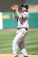 Ryan Roberts, Reno Aces against the Sacramento RiverCats at Raley Field, Sacramento, CA - 04/18/2010.Photo by:  Bill Mitchell/Four Seam Images.