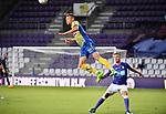 2018-08-10 / Voetbal / Seizoen 2018-2019 / KFCO Beerschot-Wilrijk - KVC Westerlo / Jens Naessens (Wes) kopt<br /> <br /> ,Foto: Mpics