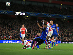 Arsenal's Danny Welbeck puts a good chance over the bar<br /> <br /> Champions League - Arsenal  vs AS Monaco  - Emirates Stadium - England - 25th February 2015 - Picture David Klein/Sportimage