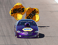 Feb 23, 2019; Chandler, AZ, USA; NHRA top sportsman driver Paul Mitsos during qualifying for the Arizona Nationals at Wild Horse Pass Motorsports Park. Mandatory Credit: Mark J. Rebilas-USA TODAY Sports