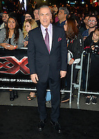 Al Sapienza at the Los Angeles premiere for &quot;XXX: Return of Xander Cage&quot; at the TCL Chinese Theatre, Hollywood. Los Angeles, USA 19th January  2017<br /> Picture: Paul Smith/Featureflash/SilverHub 0208 004 5359 sales@silverhubmedia.com