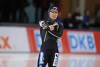 SCHAATSEN: BERLIJN: Sportforum, 06-12-2013, Essent ISU World Cup, 500m Men Division A, Joji Kato (JPN), ©foto Martin de Jong