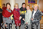 Pictured at Mounthawk School Play at Siamsa Tire on Thursday last were l-r:  Helen Shanahan, Gertie Barry, Nollaig Kelly, Maureen McKenna and Brid Cotter.