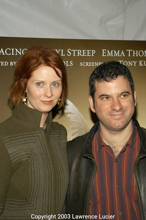 Cynthia Nixon and Danny Moses