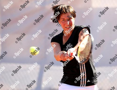 2009-08-15 / Tennis / Hisense Open Tennistornooi Antwerpen / Caroline Maes ..Foto: Maarten Straetemans (SMB)