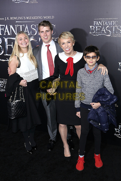 NEW YORK, NY - NOVEMBER 10: Barbara Corcoran at the World Premiere of Fantastic Beasts and Where to Find Them at Alice Tully Hall on November 10, 2016 in New York City.   <br /> CAP/MPI/DIE<br /> &copy;DIE/MPI/Capital Pictures