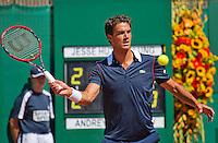 Netherlands, The Hague, Juli 21, 2015, Tennis,  Sport1 Open, Jesse Huta Galung (NED)<br /> Photo: Tennisimages/Henk Koster