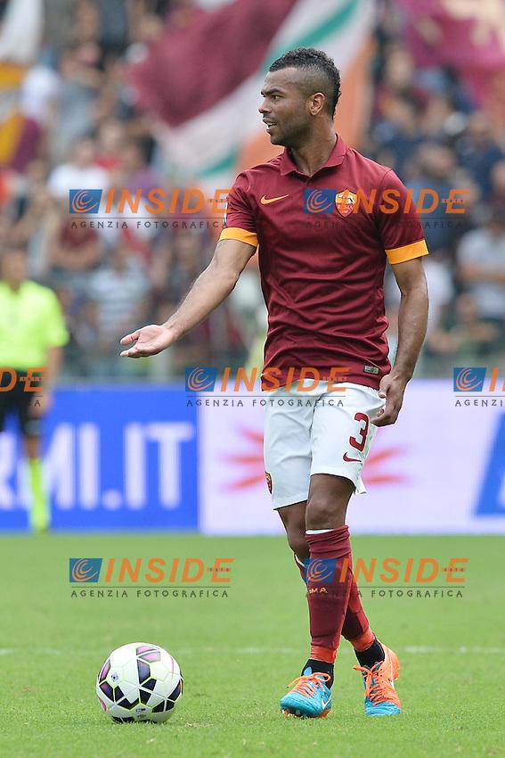 Ashley Cole Roma.<br /> Roma 21-09-2014 Stadio Olimpico. Football Calcio 2014/2015 Serie A. AS Roma - Cagliari. Foto Antonietta Baldassarre / Insidefoto