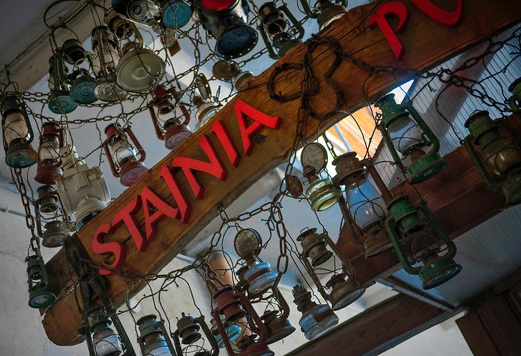 Szyld pubu Stajnia na Krakowskim Kazimierzu.<br /> Barn of Pub Stable at Krakow's Kazimierz.