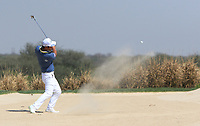 Hideto Tanihara (JPN) in action on the 10th during Round 3 of the Hero Indian Open at the DLF Golf and Country Club on Saturday 10th March 2018.<br /> Picture:  Thos Caffrey / www.golffile.ie<br /> <br /> All photo usage must carry mandatory copyright credit (&copy; Golffile | Thos Caffrey)
