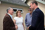 LOS ANGELES - MAY 15: John Holly, Ilyanne Morden Kichaven, Liev Schreiber at The Actors Fund's Edwin Forrest Day celebration at a private residence on May 15, 2016 in Sherman Oaks, California