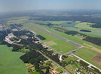 Flugplatz Rothenburg Neisse: DEUTSCHLAND, SACHSEN, (GERMANY, SAXONY), 26.05.2012: Der Flugplatz Rothenburg Neisse ist der oestlichste Landeplatz Deutschlands