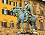 Equestrian Statue, 1594, commissionata al Giambologna da Ferdinando I, 1598