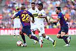 53e Trofeu Joan Gamper.<br /> FC Barcelona vs Club Atletico Boca Juniors: 3-0.<br /> Arturo Vidal, Barrios Teran &amp; Lionel Messi.