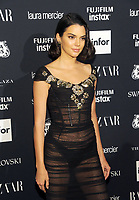 NEW YORK, NY - SEPTEMBER 08: Kendall Jenner attends the 2017 Harper's Bazaar Icons at The Plaza Hotel on September 8, 2017 in New York City. <br /> CAP/MPI/JP<br /> &copy;JP/MPI/Capital Pictures