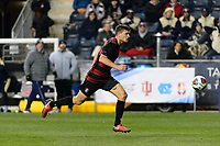 Chester, PA - Friday December 08, 2017: Tomas Hilliard-Arce The Stanford Cardinal defeated the Akron Zips 2-0 during an NCAA Men's College Cup semifinal match at Talen Energy Stadium.