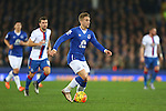 Gerard Deulofeu of Everton in action - Everton vs Crystal Palace - Barclays Premier League - Goodison Park - Liverpool - 07/12/2015 Pic Philip Oldham/SportImage