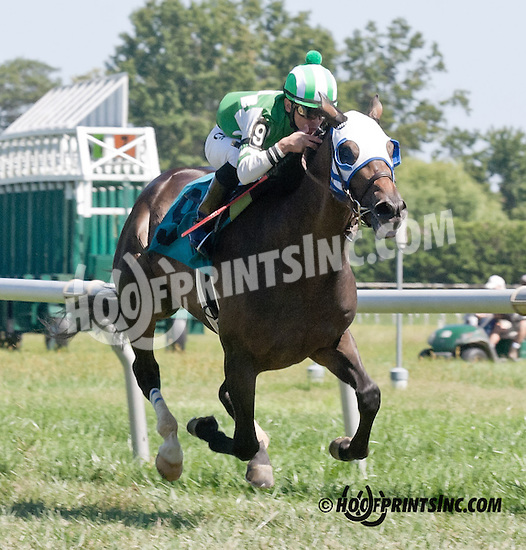 George Cross winning at Delaware Park on 9/4/13