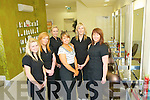 Expose Hairdressers Mounthawk Tralee  Susan Carey, formerly.of Changes, Listowel.Mary O'Brien, former- Sarah Walsh Julie Kelly, formerly of.Changes, Listowel.Kerry Mullins, formerly Natasha Curran, formerly.of Patsy's, The Mart