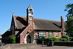 Romsey Library, former Boys National School and Master's House, Romsey, Hampshire, England