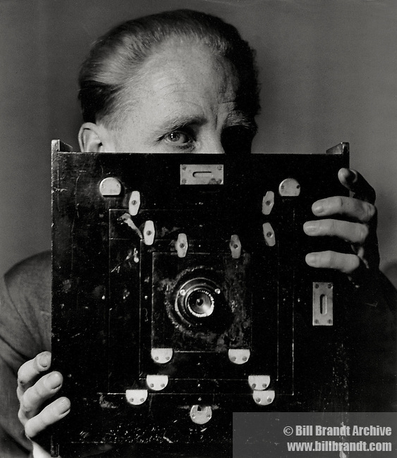 Bill Brandt behind the camera