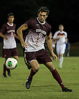 The Winthrop University Eagles played the College of Charleston Cougars at Eagles Field in Rock Hill, SC.  College of Charleston broke the 1-1 tie with a goal in the 88th minute to win 2-1.  Connor Coons (17)