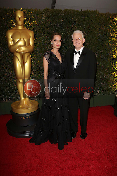 Angelina Jolie, Steve Martin<br />
