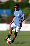 01 June 2016: Charlotte's David Estrada. The Carolina RailHawks hosted the Charlotte Independence at WakeMed Stadium in Cary, North Carolina in a 2016 Lamar Hunt U.S. Open Cup third round game. The RailHawks won 5-0 after extra time after regulation ended in a 0-0 tie.