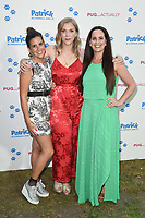 "Camille Ucan, Beattie Edmondson and Rose Johnson<br /> arriving for the ""Patrick"" UK premiere, London<br /> <br /> ©Ash Knotek  D3411  27/06/2018"