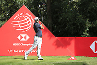Daniel Nisbet (AUS) on the 9th tee during round 1 at the WGC HSBC Champions, Sheshan Golf Club, Shanghai, China. 31/10/2019.<br /> Picture Fran Caffrey / Golffile.ie<br /> <br /> All photo usage must carry mandatory copyright credit (© Golffile | Fran Caffrey)