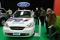 Montreal's AUTO SHOW 2007 feature many Electric  cars such as the Hydrogen Fuel cell Ford Focus 2007.<br />