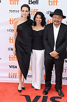 11 September 2017 - Toronto, Ontario Canada - Loung Ung, Angelina Jolie, Rithy Panh. 2017 Toronto International Film Festival - &quot;First They Killed My Father&quot; Premiere held at Princess of Wales Theatre. <br /> CAP/ADM/BPC<br /> &copy;BPC/ADM/Capital Pictures