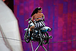 Circus Una Motorcycle Thrill Show at the Bumbershoot Festival