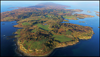 BNPS.co.uk (01202 558833)<br /> Pic: KnightFrank/BNPS<br /> <br /> How the Ulva half live - Escape to your own Scottish island..If you have &pound;4.25 million to spare.<br /> <br /> This stunning Scottish island that inspired writers including Beatrix Potter and Sir Walter Scott has just gone on the market.<br /> <br /> Ulva is the second largest island of the Inner Hebrides at 4,583 acres, but the new owners will have to be happy going back to basics as it can only be reached by ferry, has no tarmac roads and just 16 people live there, mostly farmers.<br /> <br /> It is described by agents Knight Frank as one of the finest private islands in northern Europe and is on the market for the first time in more than 70 years.<br /> <br /> The sale includes a seven-bedroom house, a church, a restaurant and tea room, and eight other properties. There are also farm buildings to support the agricultural and livestock operation.