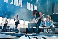 As I Lay Dying performing at Heavy MTL 2011 in Montreal, QC.