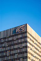 Milano, la sede di via Rizzoli del gruppo editoriale e casa editrice RCS --- Milan, RCS multimedia publishing group headquarter in Rizzoli street
