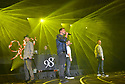 COCONUT CREEK, FL - FEBRUARY 28: (L-R) Justin Jeffre, Jeff Timmons, Nick Lachey and Drew Lachey of 98 Degrees perform on stage at Seminole Casino Coconut Creek on February 28, 2020 in Coconut Creek, Florida. Photo by Johnny Louis / jlnphotography.com )