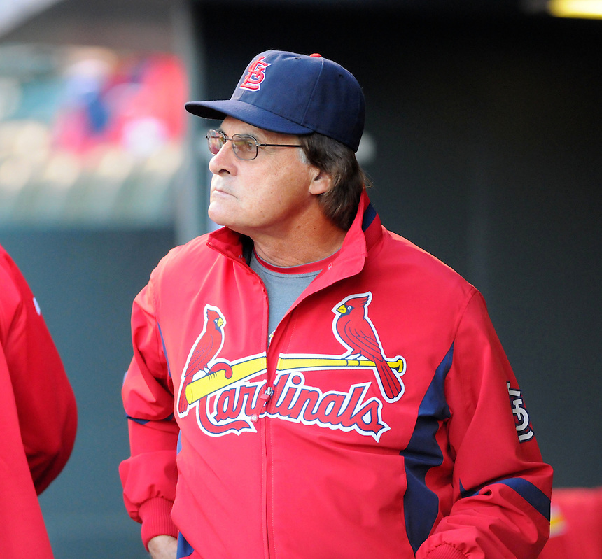 September 25, 2009: Cardinals manager and 2009 National League Manager of the Year candidate Tony La Russa during a regular season game between the St. Louis Cardinals and the Colorado Rockies at Coors Field in Denver, Colorado. The Rockies beat the Cardinals 2-1. *****For editorial use only*****