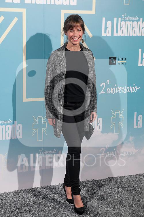 Marta Etura attend La Llamada theater play in Madrid, Spain. April 15, 2015. (ALTERPHOTOS/Victor Blanco)