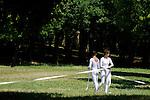 JARDINS ENFOUIS<br /> <br /> Conception : Patrice Barth&egrave;s<br /> Interpr&eacute;tation : Sylvie Klinger, Louis-Cl&eacute;ment Da Costa, Gill Viandier<br /> Cadre : Festival Uzes danse 2013<br /> Lieu : Parc du Duch&eacute;<br /> Ville : Uzes<br /> 16/06/2013<br /> &copy; Laurent Paillier / photosdedanse.com
