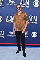 LAS VEGAS, CA - APRIL 07: Jimi Westbrook of Little Big Town attends the 54th Academy Of Country Music Awards at MGM Grand Hotel &amp; Casino on April 07, 2019 in Las Vegas, Nevada.<br /> CAP/ROT/TM<br /> &copy;TM/ROT/Capital Pictures