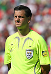 02 July 2007: Fourth Official Steven Depiero (CAN). At the National Soccer Stadium, also known as BMO Field, in Toronto, Ontario, Canada. Mexico's Under-20 Men's National Team defeated Gambia's Under-20 Men's National Team 3-0 in a Group C opening round match during the FIFA U-20 World Cup Canada 2007 tournament.